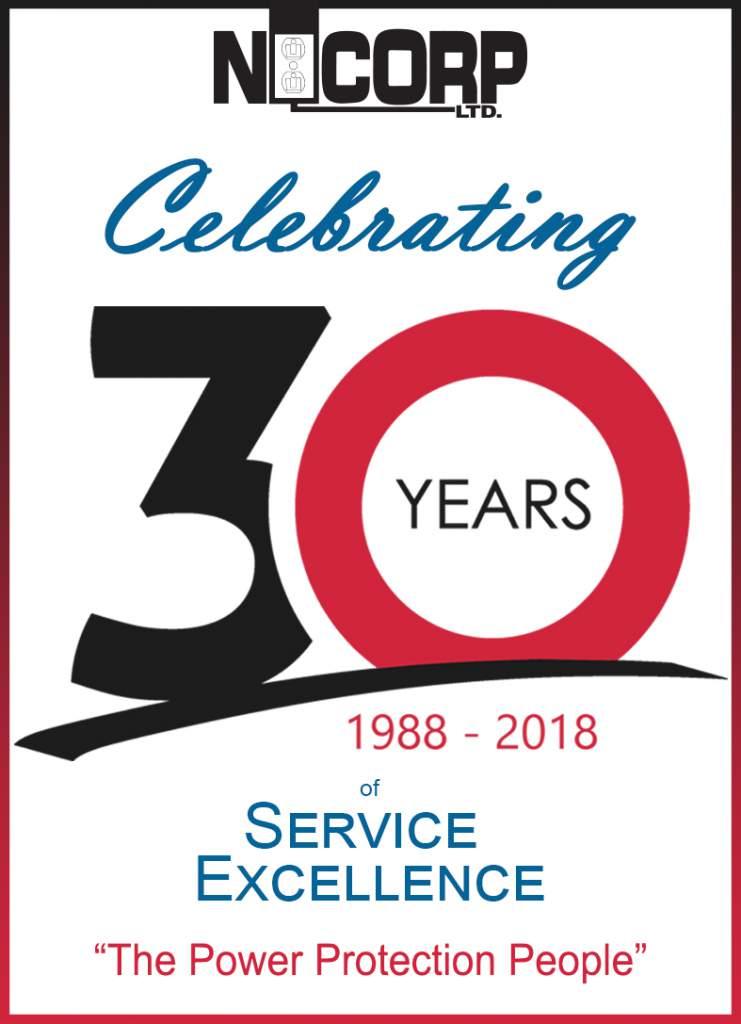NiCorp 30th Anniversary Banner