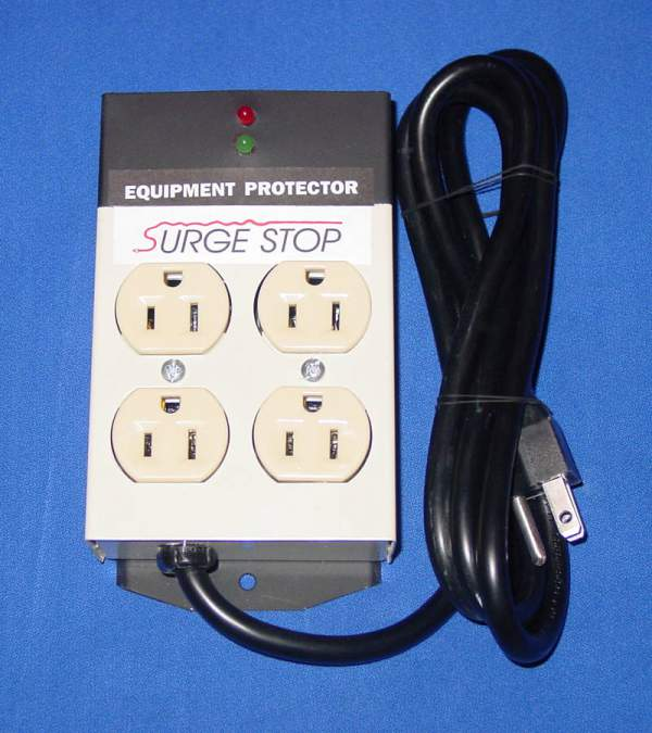 Surge Stop - Four Outlet Equipment Protector